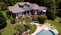 Aerial view of 111 Westridge Court, Chapin