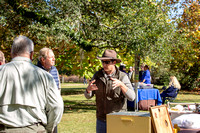 Congaree Land Trust event at Wavering Place - 11-10-18