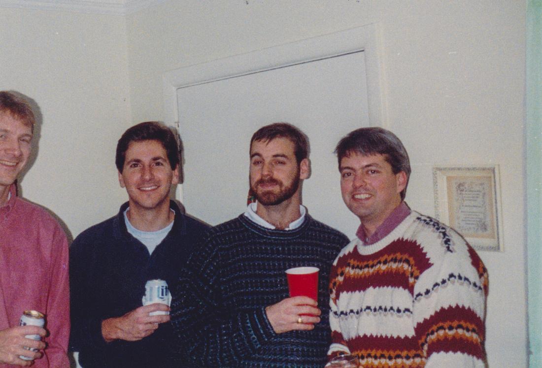 1993  Dan, Scott Padgett, Burton, Kevin McDonald