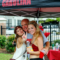 Tailgating before the Georgia / South Carolina game 9-13-14